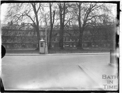 Telephone box at the Circus c.1930