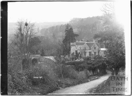 Iford Manor viewed from the lane to Westwood, No.24 c.1930s