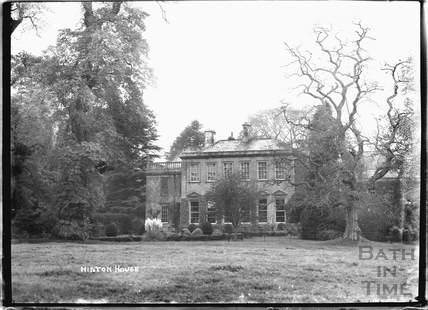 Hinton House Hinton Charterhouse c.1930s