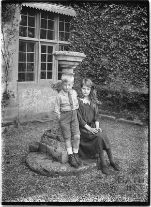 Hinton Priory, Hinton Charterhouse c.1930s