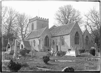 Church, Hinton Charterhouse c.1930s