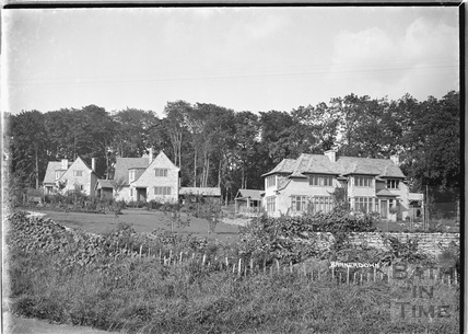 Houses on Bannerdown 1939