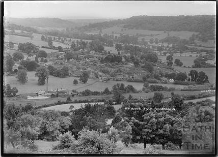 Bathford from Bannerdown c.1939