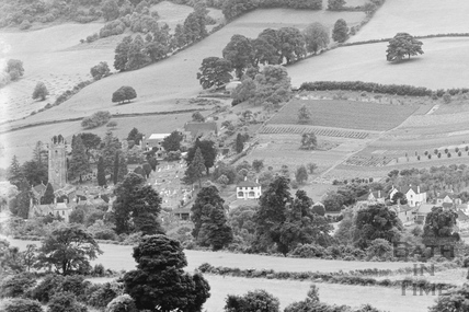 View of Northend Batheaston from Bannerdown c.1939 - detail 1 of 3