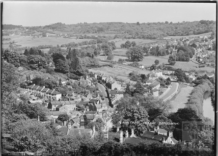 View from the Cliff, Batheaston c.1939