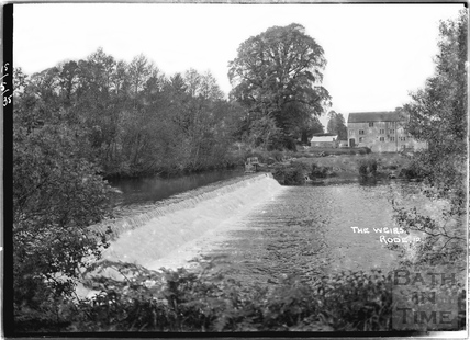 The Weirs and Mill at Rode No. 12 15 May 1935