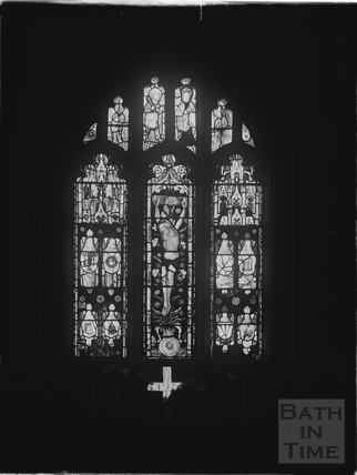 Westwood Church, stained glass window c.1930s