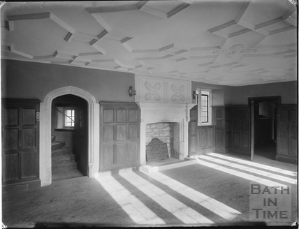 Inside Hinton Priory, Hinton Charterhouse, c.1930s