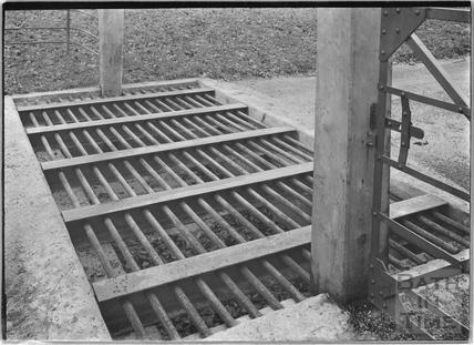 Cattle grid, Shockerwick c.1920s