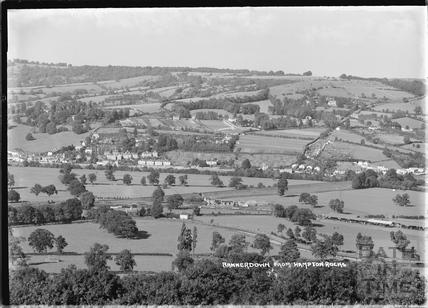 Bannerdown, Batheaston from Hampton Rocks, 13 Sept 1936