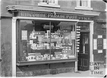 Widcombe Parade Post Office c.1920s