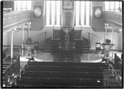 Inside the Countess of Huntingdon's Chapel, Vineyards c.1920s