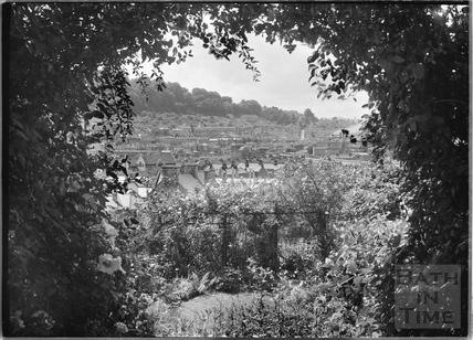 A peep through the hedgerows of Widcombe c.1920s