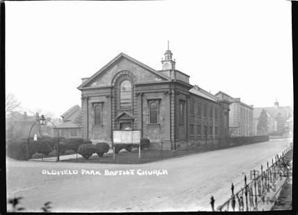 Oldfield Park Baptist Church c.1920s