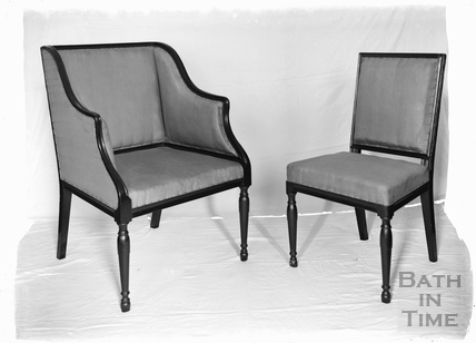 Studio shot of some chairs c.1920s