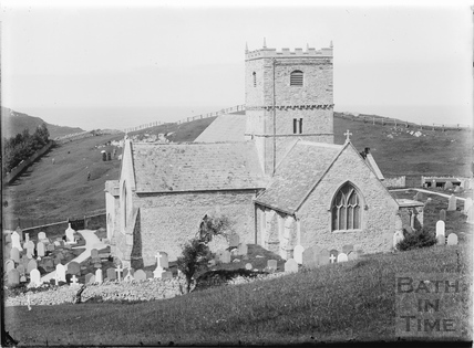 St Andrews church, Clevedon c.1910