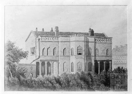 Bathwick Villa - copy of watercolour