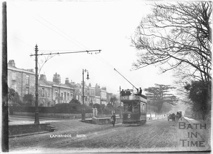 Tram Car No.17 at Lambridge, London Road c.1928