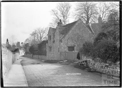 Old Cottage in Bathampton Lane 1925