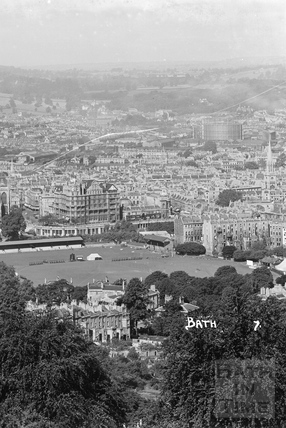 View of Bath from Beechen Cliff No.7 c.1920s
