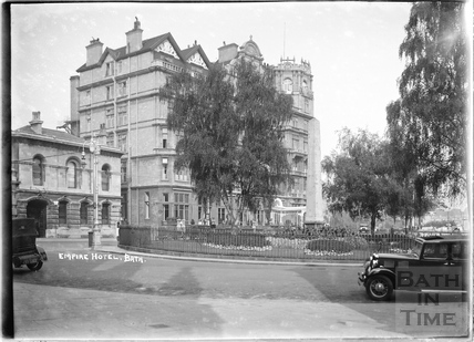 The Empire Hotel and Police Station, Orange Grove c.1930s