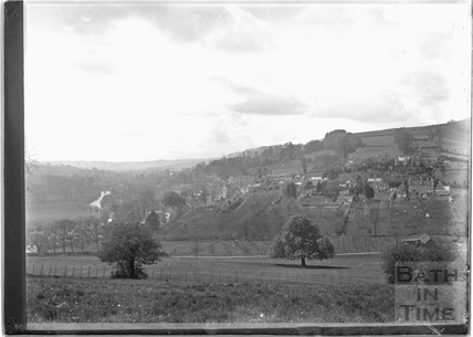 View of Northend, Batheaston from Coal pit Fields c.1920s