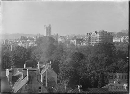 View of Abbey and Empire Hotel from Sydney Buildings c.1920s