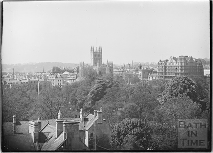 View of Abbey and Empire Hotel from Sydney Buildings c.1920s No.3