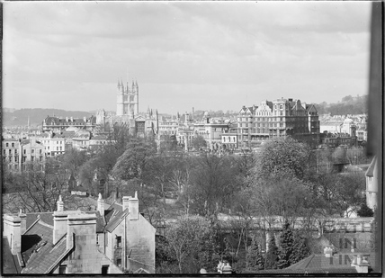 View of Abbey and Empire Hotel from Sydney Buildings c.1920s No.1