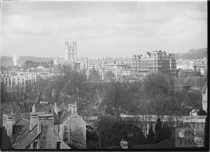 View of Abbey and Empire Hotel from Sydney Buildings c.1920s No.4