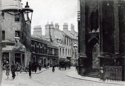 St Michaels from Northgate Street, looking towards Broad Street