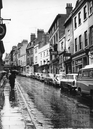 View up Broad Street c.1966