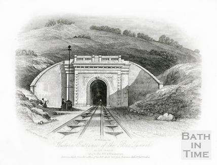 Western Entrance of the Box Tunnel, near Bath c.1850