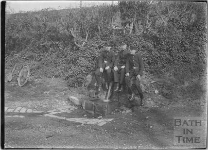 Telegram boys at Horseshoe Walk c.1910s