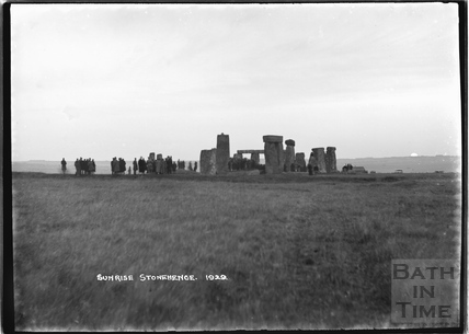 Sunrise at Stonehenge 1929