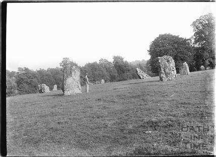 Stone Circle, Stanton Drew c.1929