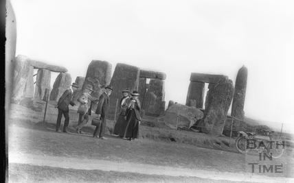 Visit to Stonehenge c.1910