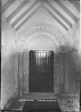 Southstoke, Norman Doorway, c.1920s