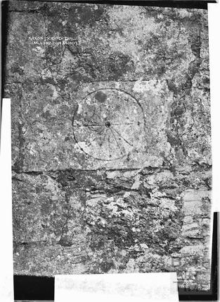 Saxon Scratch Dial, Lullington c.1920s