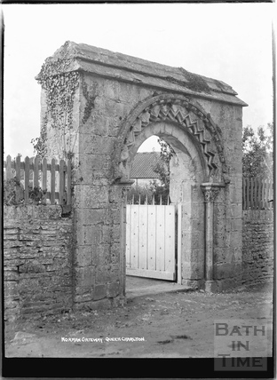 Queen Charlton, Norman Gateway c.1920s