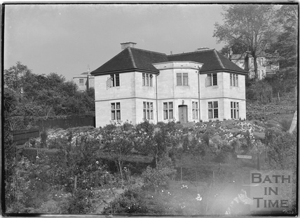 New house in Darlington Place, Bath c.1920s