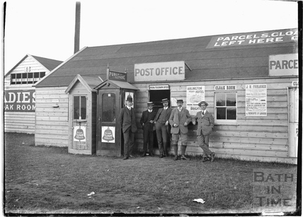 Post Office workers and colleagues with the photographer c.1905