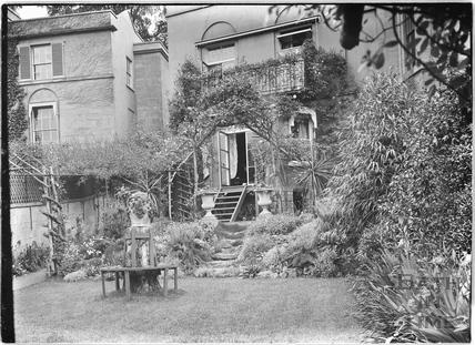 Rear Garden, Sydney Buildings c.1920s