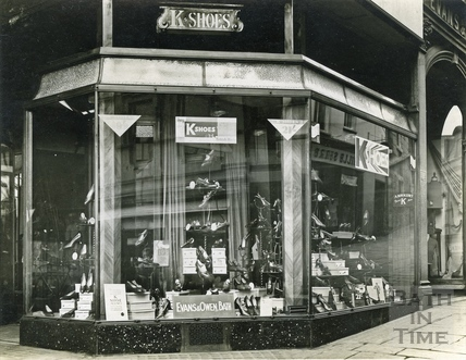 K Shoes shop at Evans & Owen, Bartlett Street c.1930s