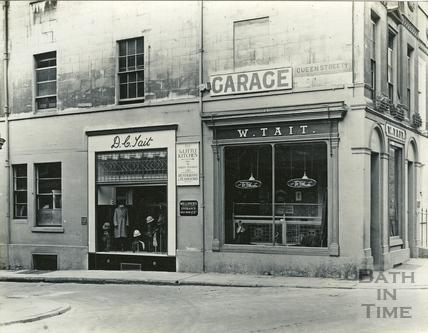 Tait's Tailors. Queen Street c.1920