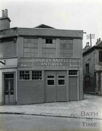 Warehouse for Charles Angell Antiques, Monmouth Street, c.1930s