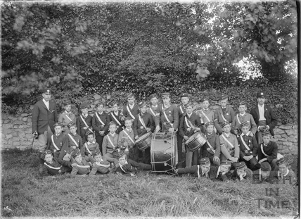 Youth Military Band from the Somerset Light Infantry, c.1905