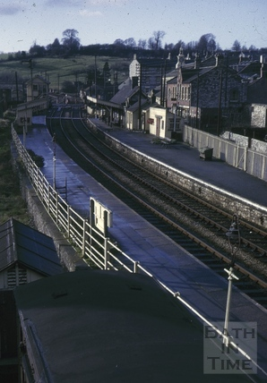 Radstock North Railway Station 1966