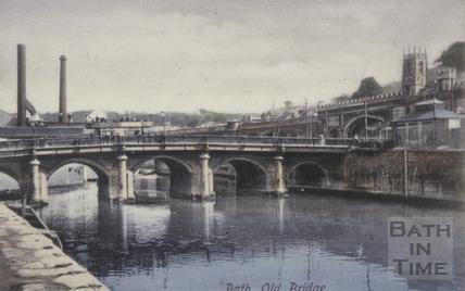 Old Bridge, Bath 1904