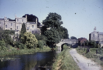 The Kennet and Avon Canal, Bathwick, Bath 1960s